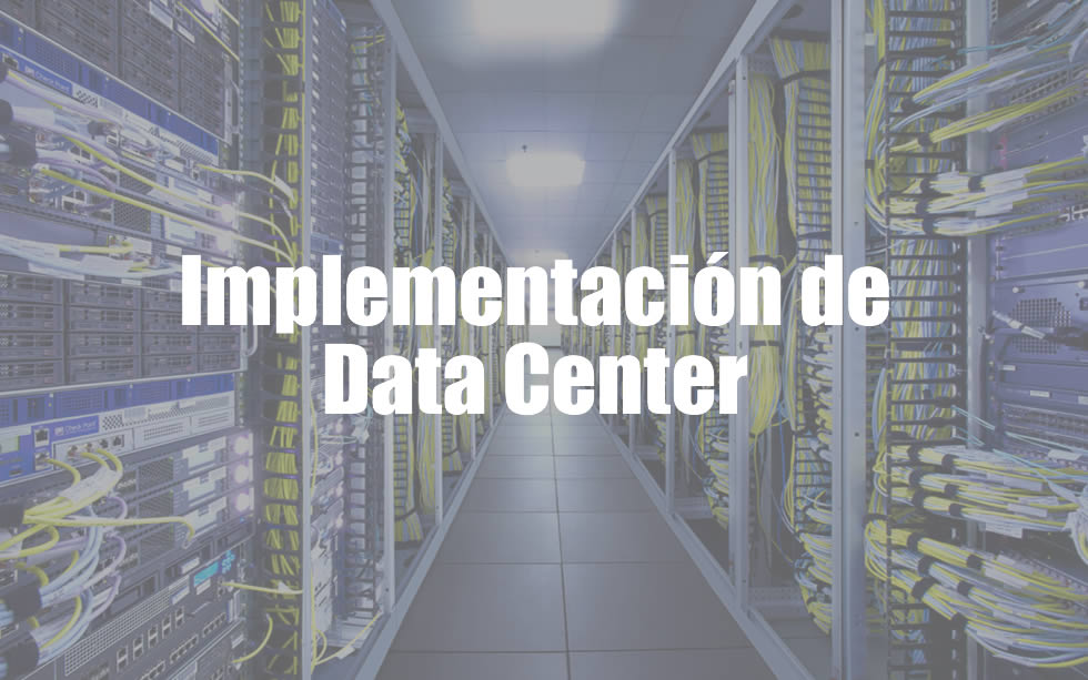 implementacion de data center